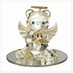 #35072 June Birthstone Angel Bear
