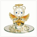 #35077 November Birthstone Angel Bear