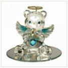 #35078 December Birthstone Angel Bear
