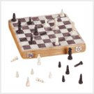 #29385 Soapstone Carved Chess Set