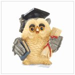 #37011 Graduation Owl Figurine