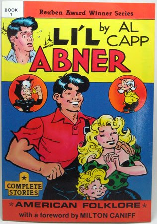 LI'L ABNER Book 1 Al Capp American Folklore