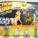 STAR WARS Action Masters Diecast Figure SET Leia R2-D2