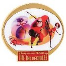 Disney INCREDIBLES Family Movie Logo Violet PIN FREE