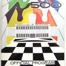 60th INDIANAPOLIS 500 May 1976 Souvenir Program Guide