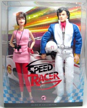 BARBIE Set Movie Speed Racer & Trixie MIB Pop Culture