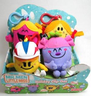 Little Miss Sunshine Naughty Chatterbox Plush Set 4 New