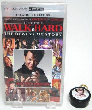 Walk Hard Dewey Cox UMD PSP Video & Promo Earplugs RARE