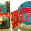 PLANET HOLLYWOOD San Francisco & New York Pin Lot RARE