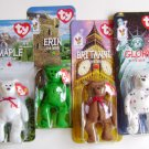 McDonalds Beanie Baby Maple Britannia Erin Glory Bear
