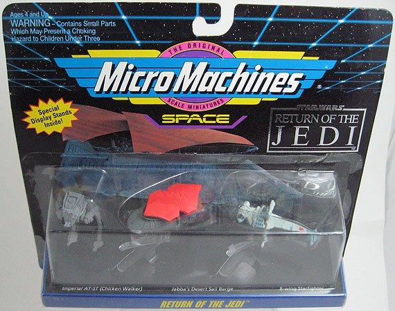 STAR WARS Micro Machines RETURN OF THE JEDI Set B-Wing