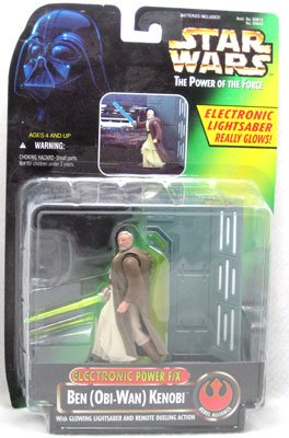 Kenner STAR WARS Electronic Power F/X Ben Obi-Wan Figure