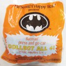 McDonalds BATMAN Press And Go Car Happy Meal Toy '91