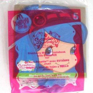McDonalds Strawberry Shortcake BLUEBERRY Notebook 5 MIP