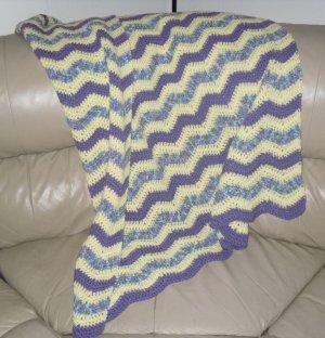 Lavendar Monet Blanket