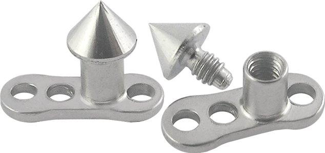 Cone Titanium G23 Dermal Anchor