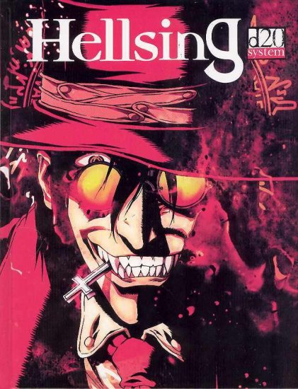HELLSING D20 SUPPLEMENT AND EPISODE GUIDE HC (FREE SHIP)