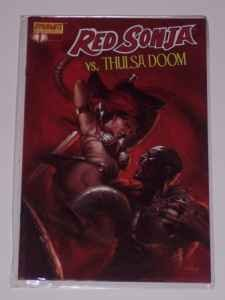 Red Sonja vs Thulsa Doom #1 Dynamite Comics **New**