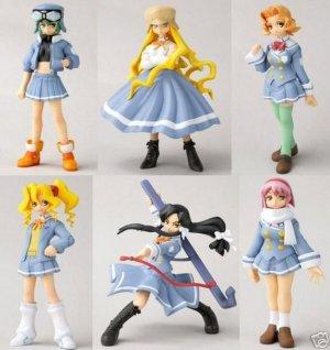 Kujibiki Unbalance Story Image Figures (Set of 6) *NIB* (FREE SHIP)
