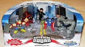 Marvel Super Hero Squad Avengers Face-Off Figures TRU EX - NEW
