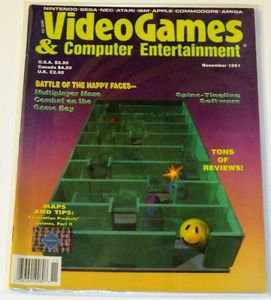 Videogames & Computer Entertainment November 1991