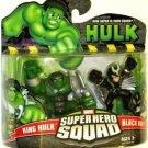 Marvel Super Hero Squad King Hulk & Blackbolt Figures - NIB