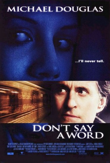 Don't Say a Word DVD