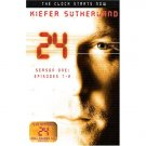 24 season one Episodes 1-2 DVD