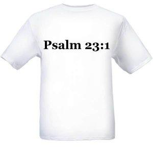 Adult Religious Shirts (Back)