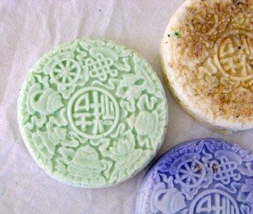 3 Handmade Customized Asian Goats Milk Soaps