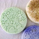 3 Handmade Customized Asian Goats Milk Soaps