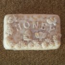 3 Handmade Oatmeal & Honey Goats Milk Soaps, Honeysuckle Scented [FREE SHIPPING]