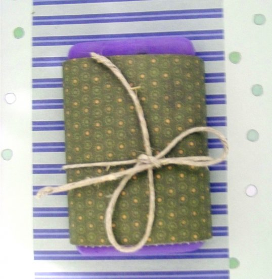 3 Handmade Lilac Scented Goats Milk Soaps
