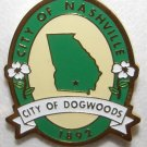 City of Nashville Georgia Lapel Hat Pin