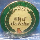 City of Clarkston Georgia Lapel Hat Pin
