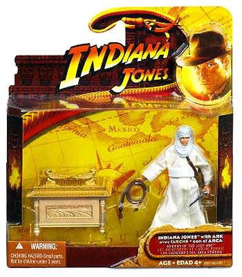 Indiana Jones Raiders of the Lost Ark Movie Deluxe Action Figure Indiana Jones with Ark
