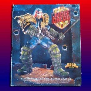 Judge Dredd 1996 Mega Heroes Statue Limited Edition