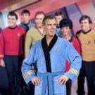 Star Trek Bathrobe Spock Embroidered Blue Robe