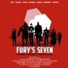 (M) Fury's Seven Avengers Tee Shirt Adult Size Medium