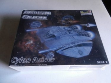 Battlestar Galactica 1996 Revell Monogram CYLON RAIDER Model Kit New Open Box