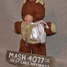 Radar's Teddy Bear Iconic Replica Prop from M.A.S.H. EXACT match!
