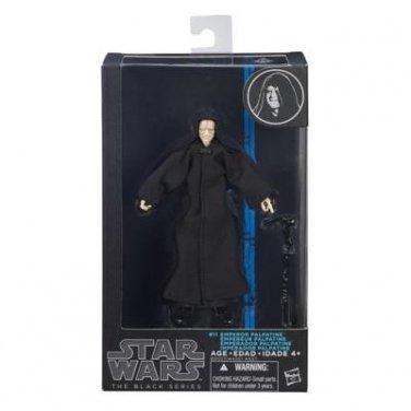 EMPEROR PALPATINE Star Wars The Black Series 6 Inch Figure MIB