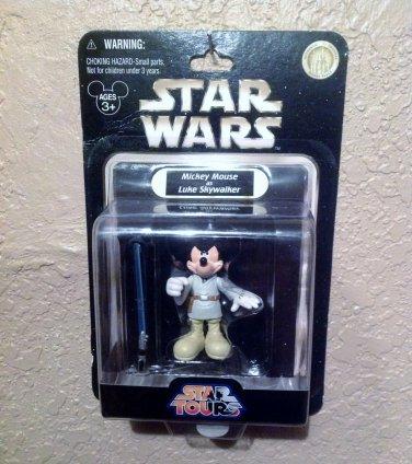 Star Wars Star Tours Mickey Mouse as Luke Skywalker Disney Action Figure