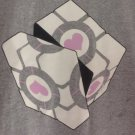 (2XL) Portal Weighted Rubik's Cube Tee Shirt Adult Size 2X Large