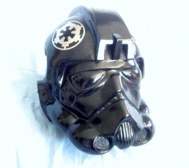 Star Wars Don post TIE Fighter Helmet Custom Paint Job Prop Movie Replica