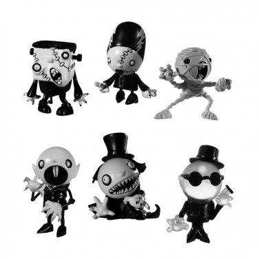 Killer Panda Toys MONSTER THEATER - Series 1 Complete 2 Box Set Mint in Box