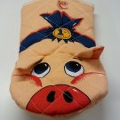 Piggy Oven Glove EXACTLY as Used in Leon the Professional Found Movie Prop Oven Mitt