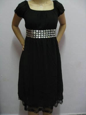 Dress (diamonds) Black
