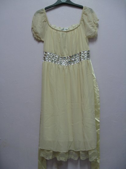 Dress (diamonds) Pearl White