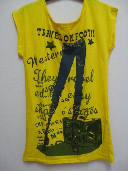 T-jeans - Yellow